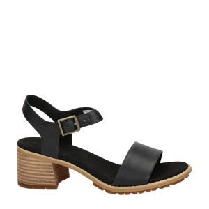 Laguna Shore  leren sandalettes zwart