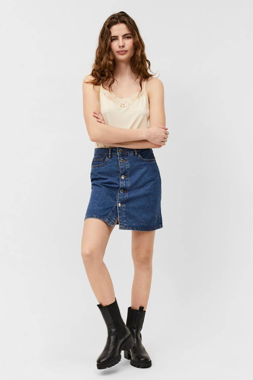 VERO MODA spijkerrok VMHARPER, Medium blue denim