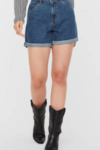 VERO MODA jeans short VMNINETEEN dark denim, Dark denim