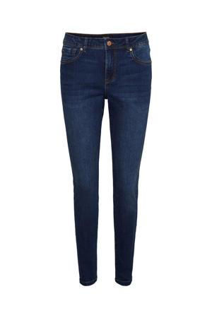 skinny jeans VMTANYA met biologisch katoen dark denim