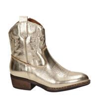 Nelson Kids   leren cowboylaarzen goud, Goud