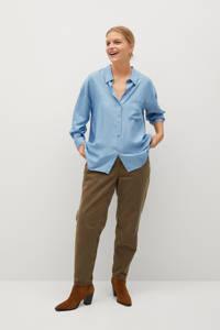 Violeta by Mango blouse lichtblauw, Lichtblauw