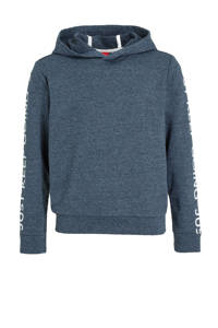s.Oliver hoodie met tekst marine, Marine