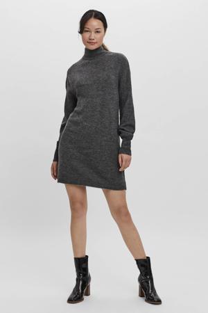 gebreide jurk VMLEFILE antraciet
