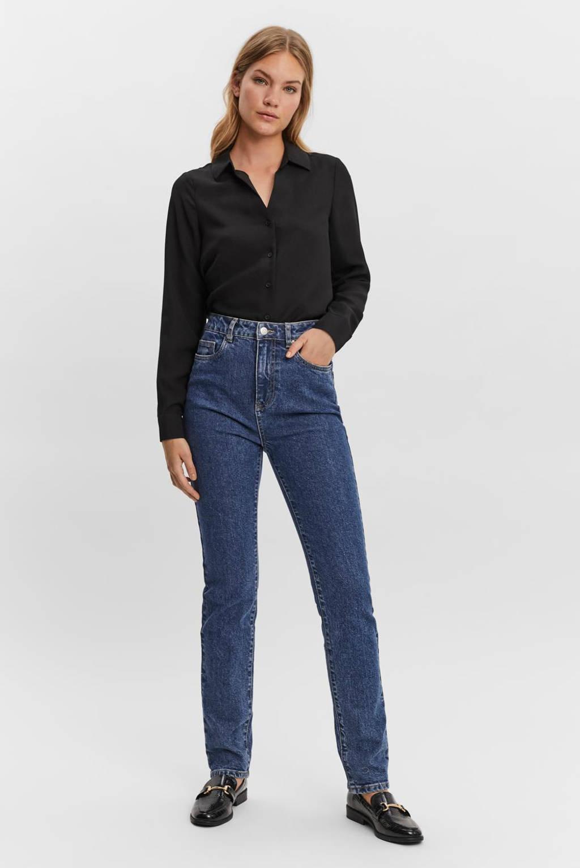 VERO MODA blouse VMELISA zwart, Zwart