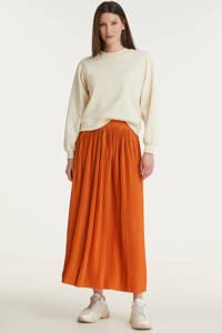 VILA rok VIPLISS oranje, Oranje