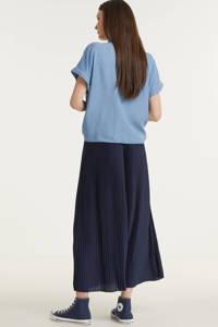 VILA rok VIPLISS donkerblauw, Donkerblauw