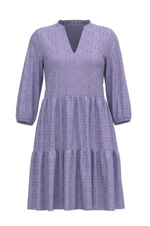A-lijn jurk VIKAWA van gerecycled polyester paars