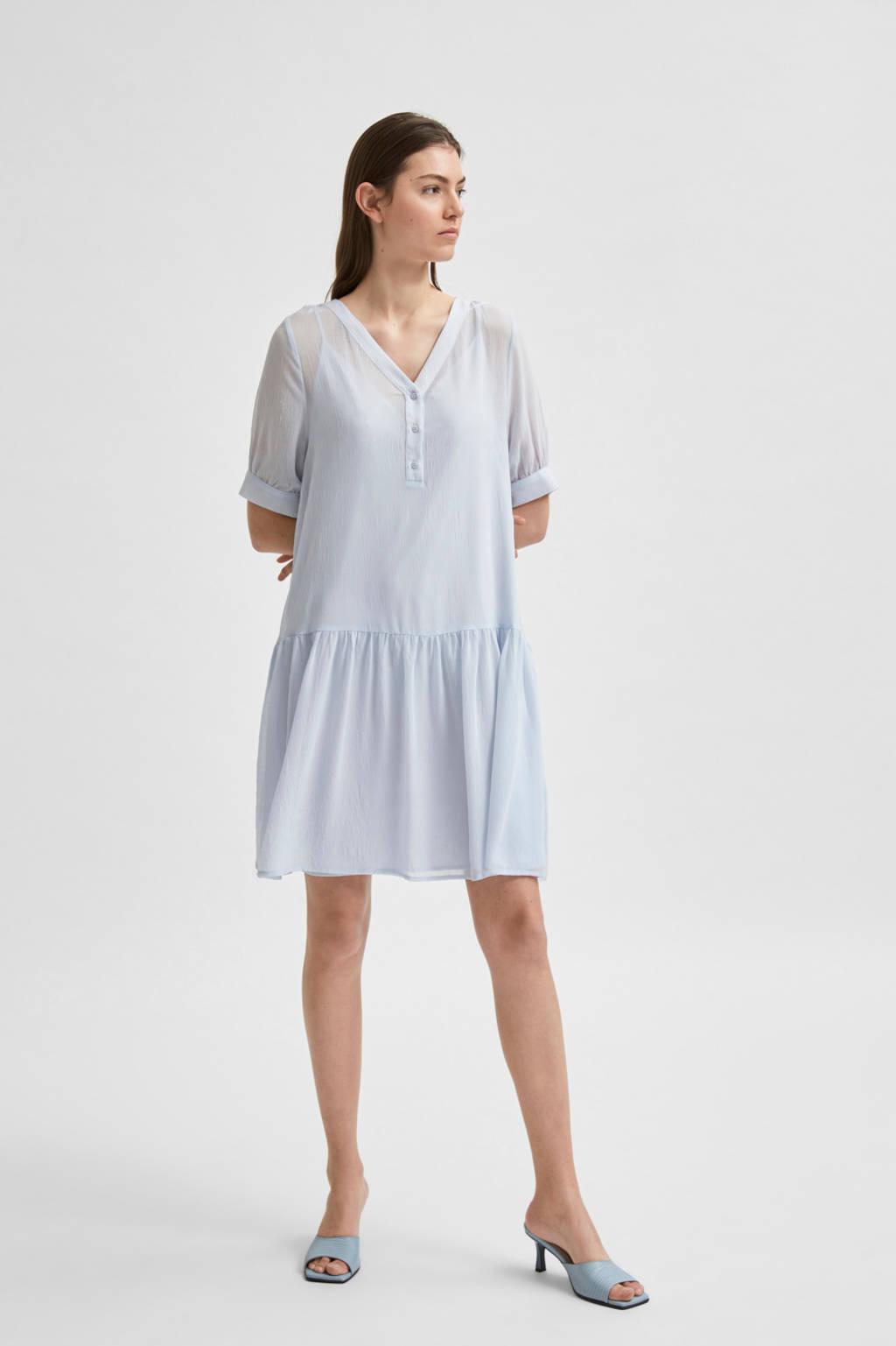 SELECTED FEMME jurk lichtblauw, Lichtblauw