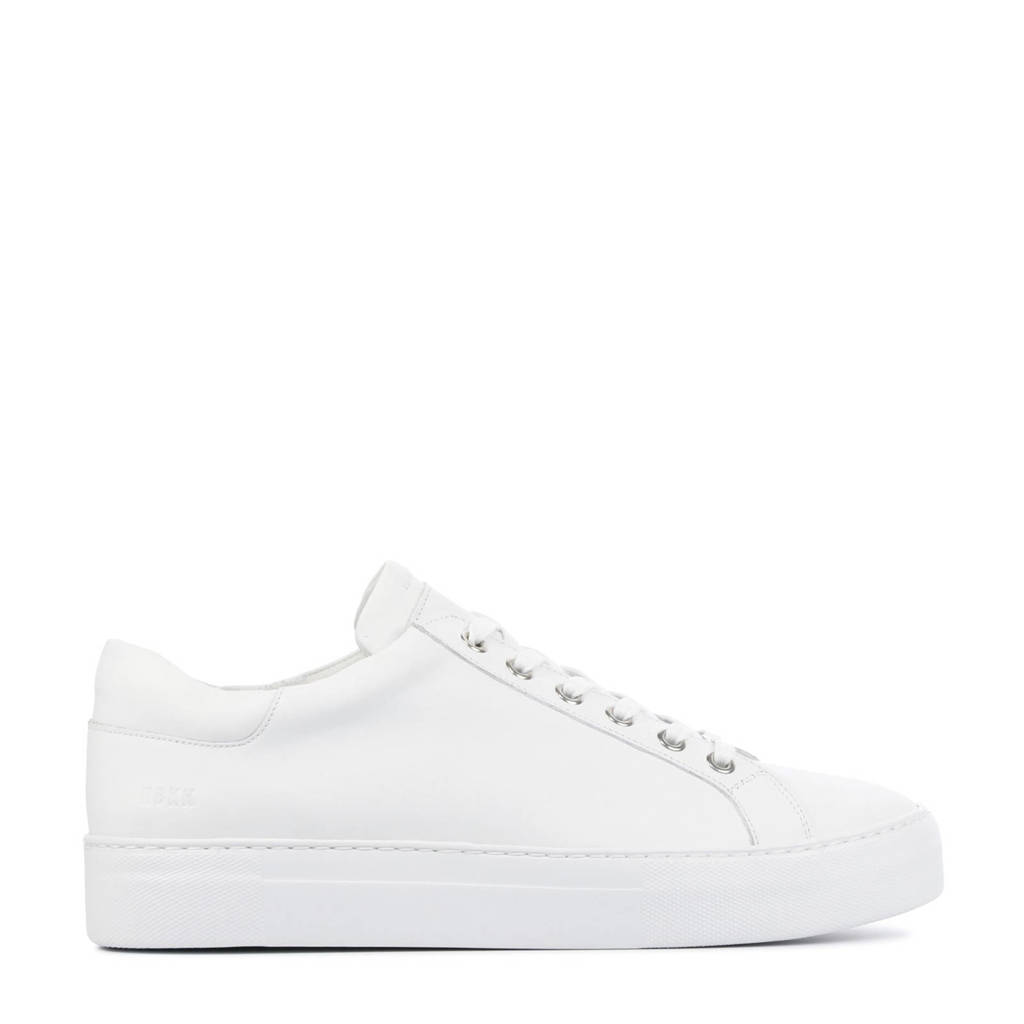 Nubikk Jolie Pure Gomma II  leren sneakers wit, Wit