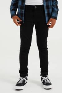 WE Fashion Blue Ridge tapered fit jeans black uni, Black Uni
