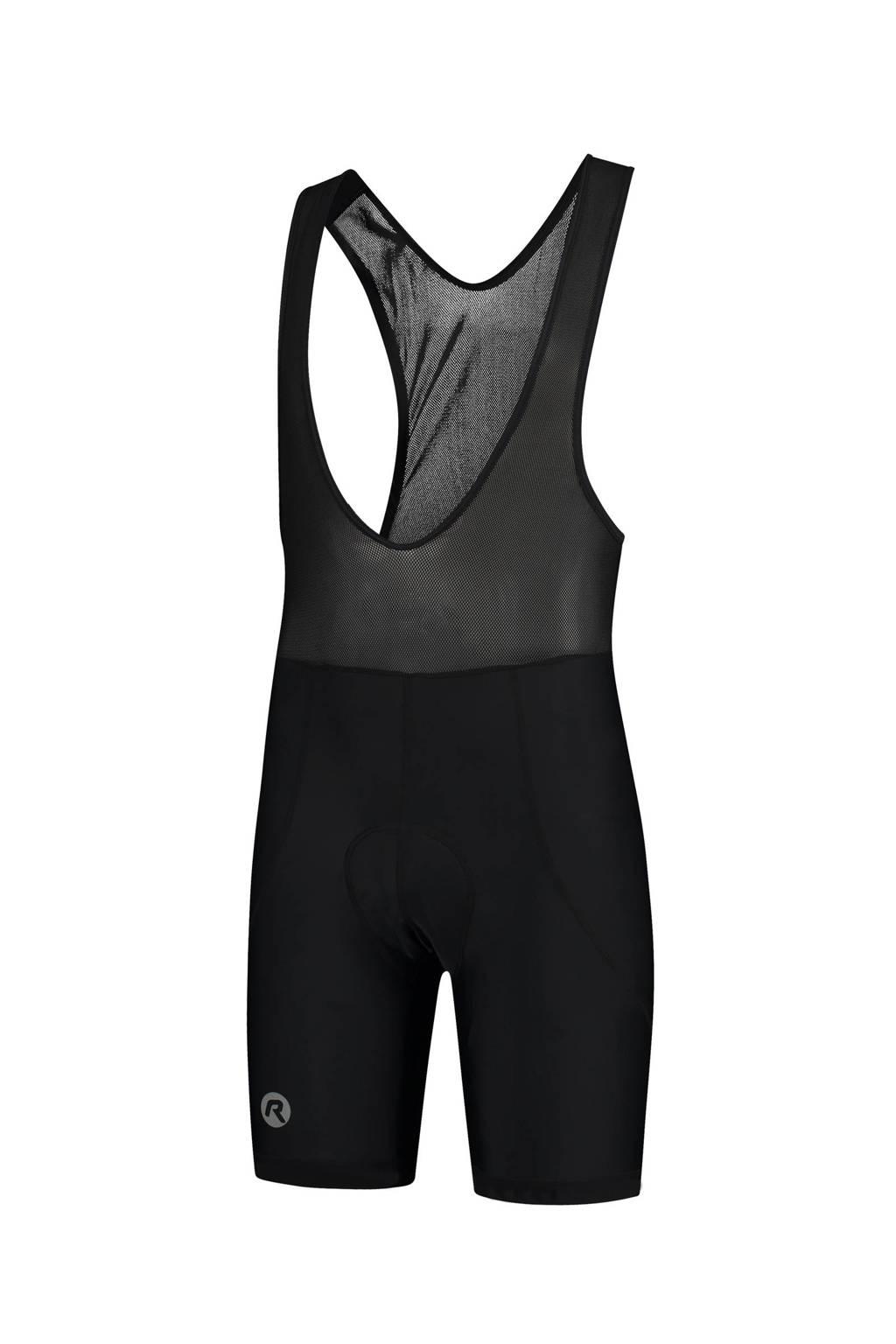 Rogelli   fietsbroek Basic zwart, Zwart