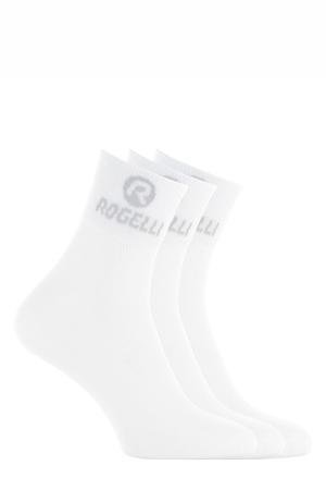 sportsokken Promo - set van 3 wit