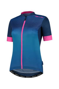 Rogelli fietsshirt Lux blauw/roze, Blauw/roze