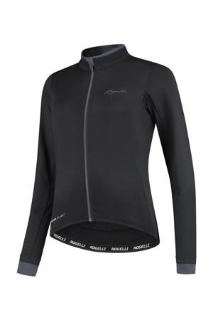 fietsshirt Essential zwart