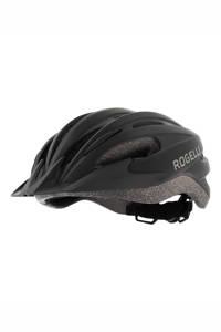 Rogelli fietshelm Ferox zwart, Zwart