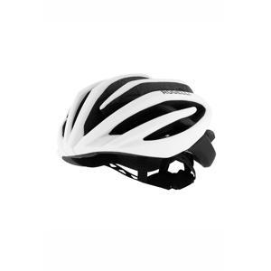 fietshelm Tecta wit/zwart
