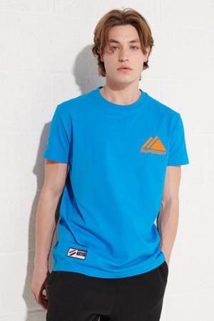 regular fit T-shirt aqua