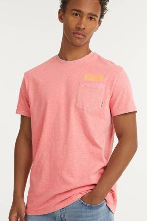 gemêleerd T-shirt LA BEACH fluro pink pastel