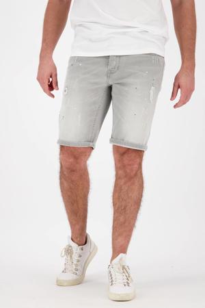 slim fit jeans short Crest rd08 light grey stone