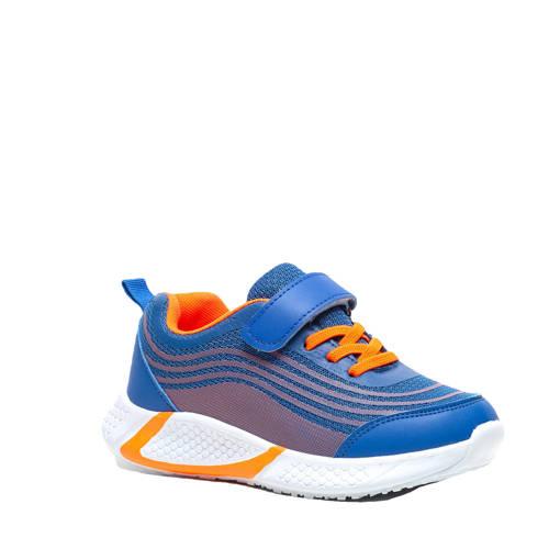Scapino Blue Box sneakers blauw/oranje