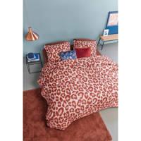 Beddinghouse katoenen dekbedovertrek 2 persoons, 2 persoons (200 cm breed), Rood