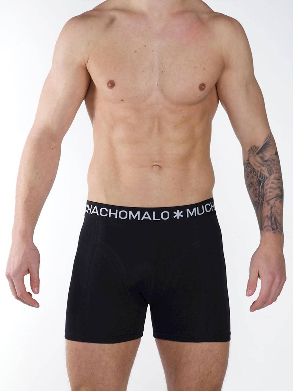 Muchachomalo zwemshort + gratis boxershort met all over print zwart/wit/roze, Zwart/wit/roze