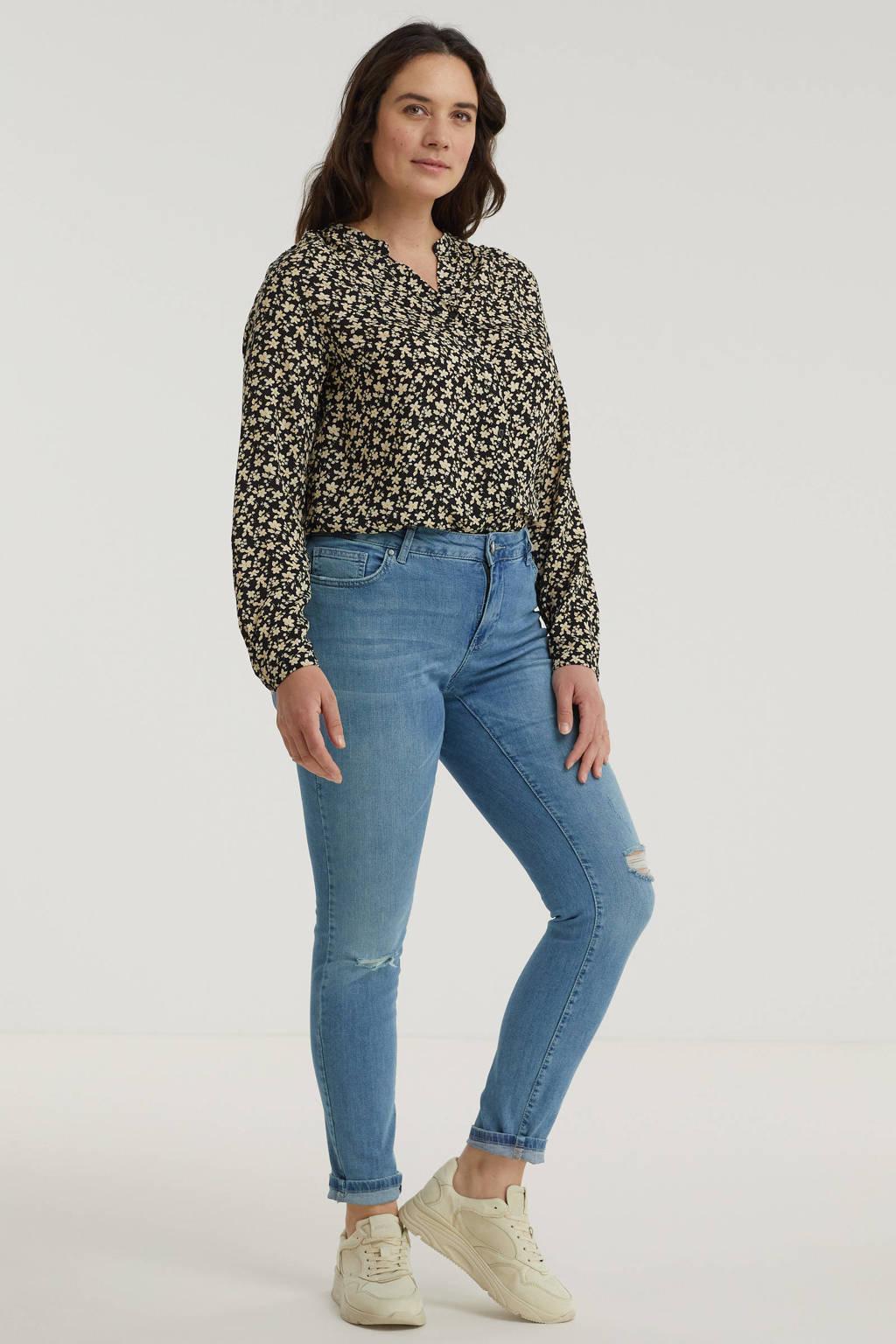 Zizzi skinny jeans Sanna light denim, Light denim
