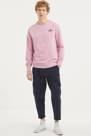 sweater van biologisch katoen roze