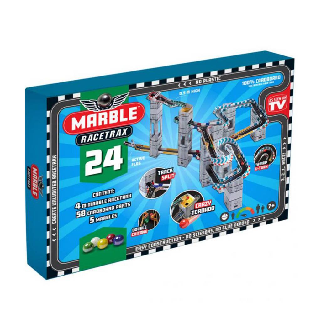 Marble Racetrax  knikkerbaan starter set - 24 sheets - 4 meter