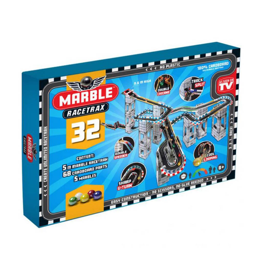 Marble Racetrax  knikkerbaan circuit set - 32 sheets - 5 meter