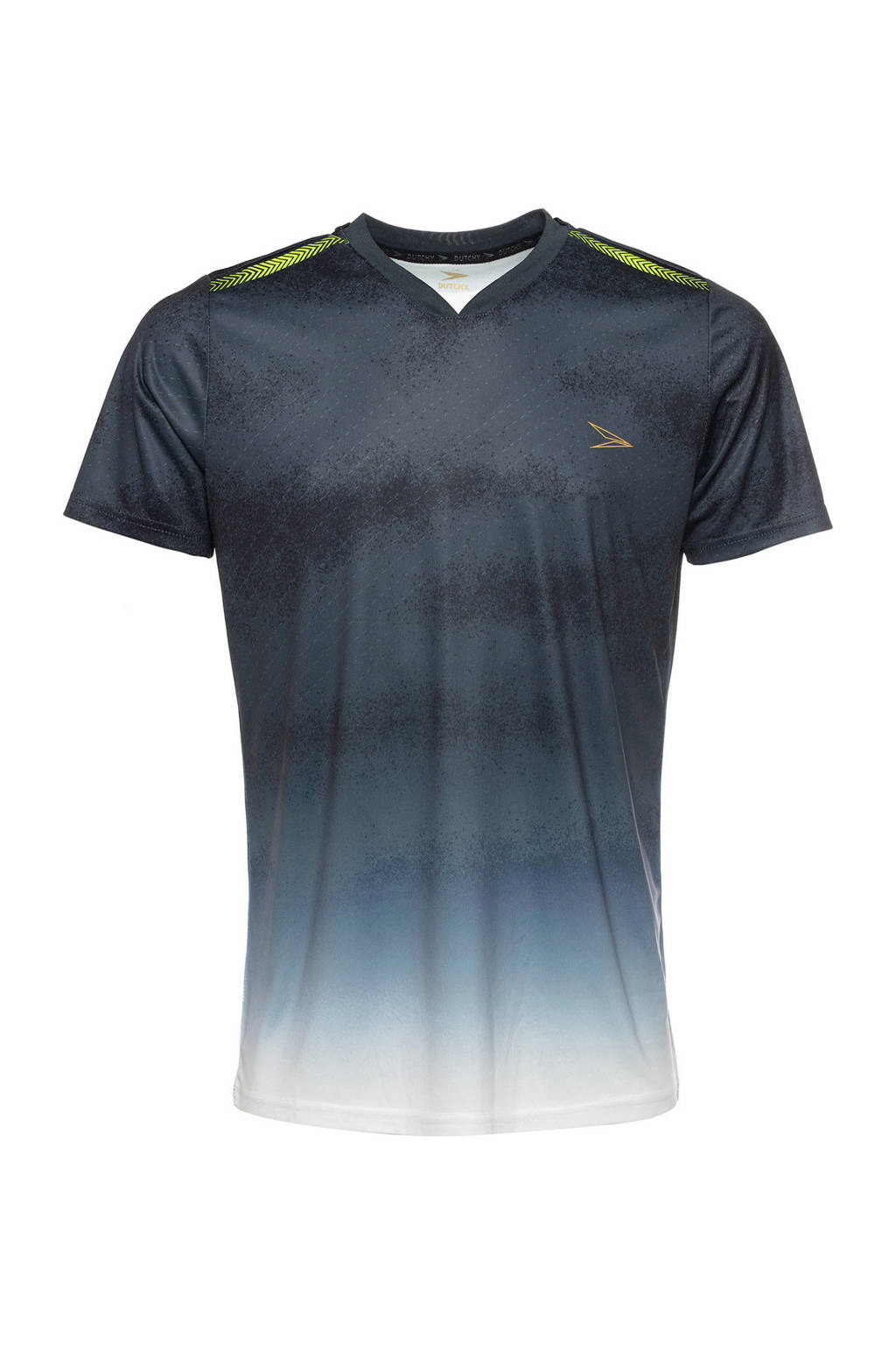 Scapino Dutchy Senior  voetbalshirt zwart/wit, Zwart/wit