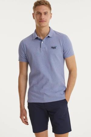 regular fit chino short Modern donkerblauw