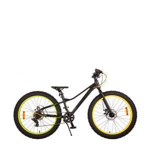 Gradient kinderfiets 24 inch Zwart/ Groen/ Geel