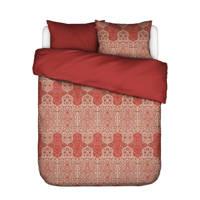 Essenza katoenen dekbedovertrek lits-jumeaux, Lits-jumeaux (240 cm breed), Roseval