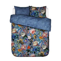 Essenza katoenen dekbedovertrek lits-jumeaux, Lits-jumeaux (240 cm breed), Moonlight blue