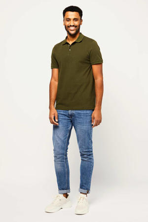 regular fit polo RICHARDSON forest night
