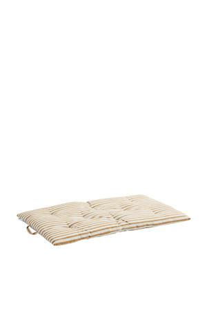 Matraskussen met streep  (60x100 cm)