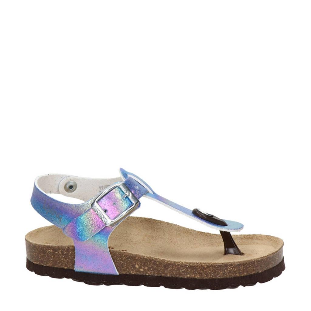 Kipling Rabia 1  sandalen blauw/metallic