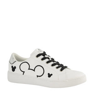 Mickey Mouse sneakers wit/zwart