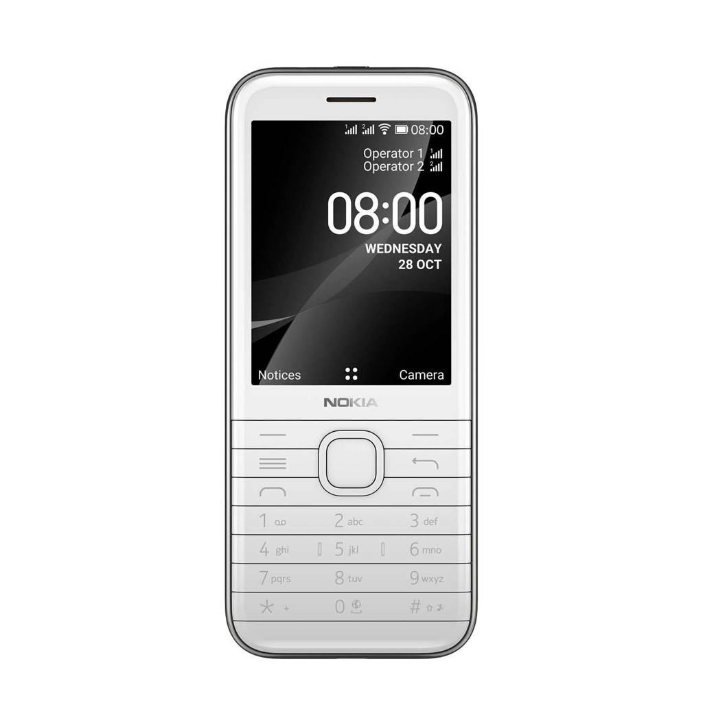 Nokia 8000 WHITE mobiele telefoon (wit), Wit