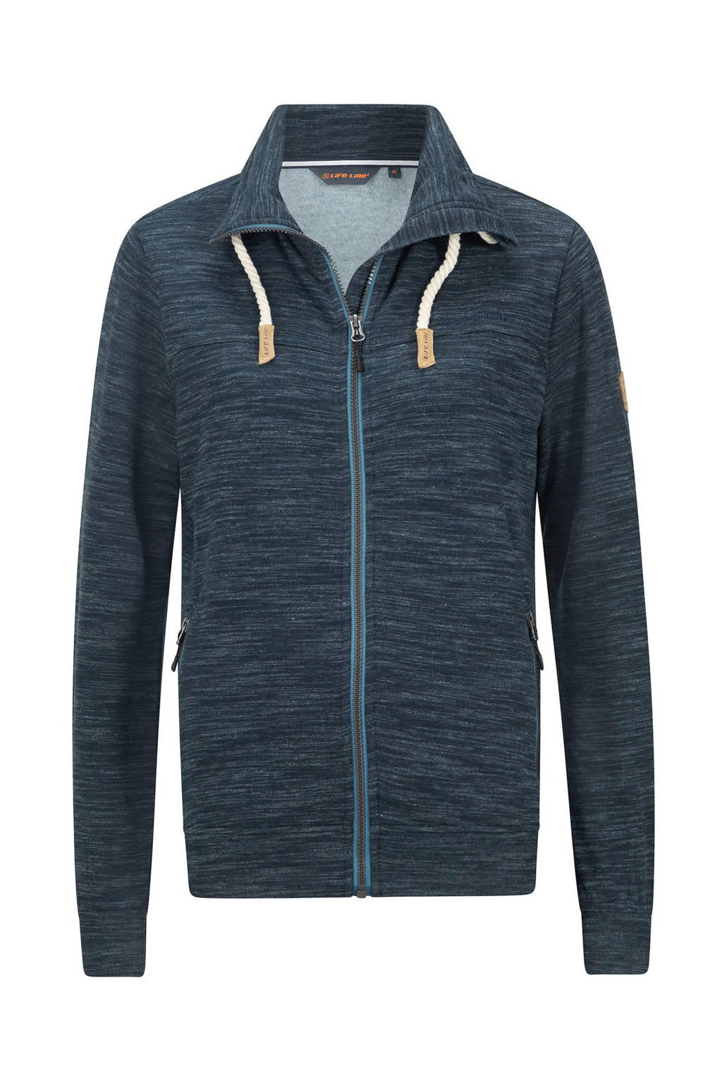Life-Line outdoor vest Sandy donkerblauw melange, Donkerblauw melange