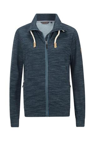 outdoor vest Sandy donkerblauw melange
