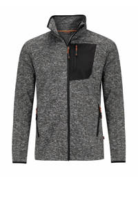 Life-Line outdoor vest Protero zwart melange, Zwart melange