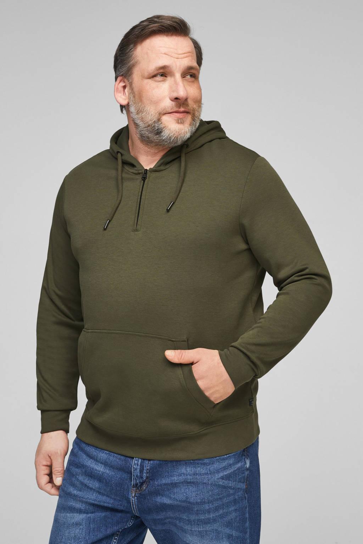 s.Oliver hoodie donkergroen, Donkergroen