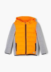 s.Oliver gewatteerde tussenjas oranje/grijs, Oranje/grijs