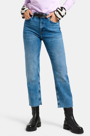 high waist regular fit jeans Julia straight mediumstone