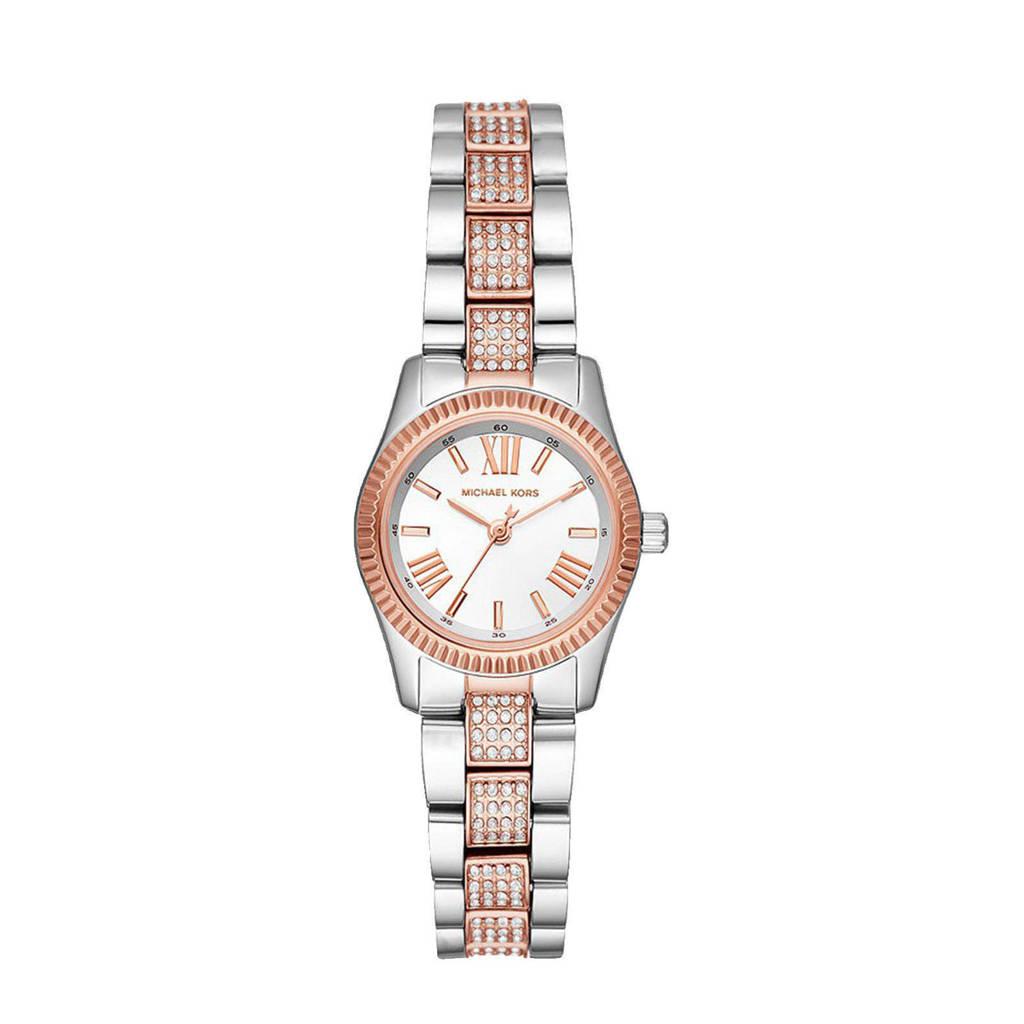 Michael Kors horloge MK3876 Lexington Zilver, Zilverkleurig