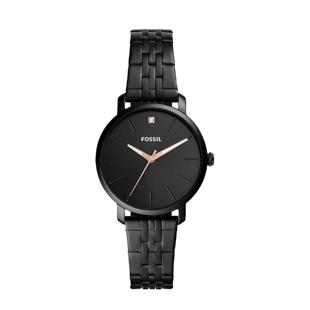 Fossil horloge BQ3569 Lexie Luther Zwart