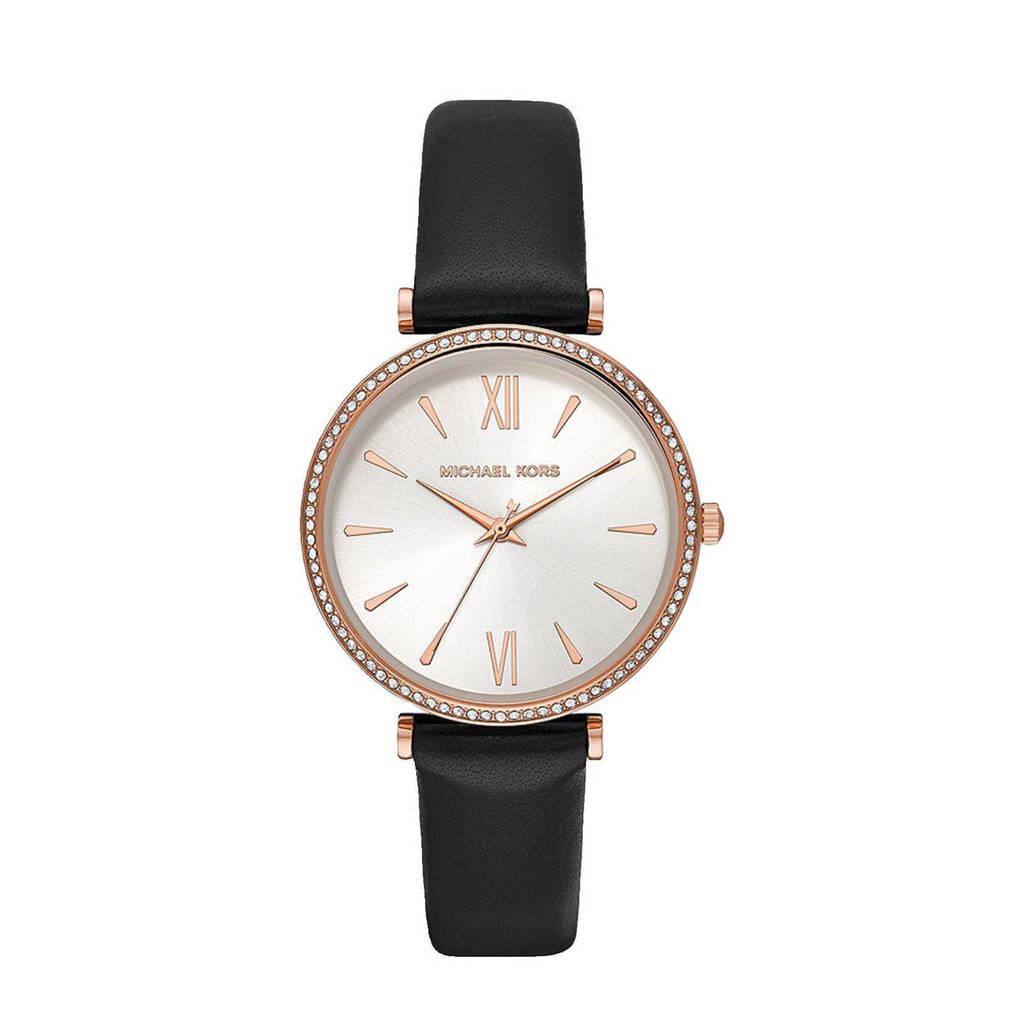 Michael Kors horloge MK2898 Maisie Rosé, Zwart